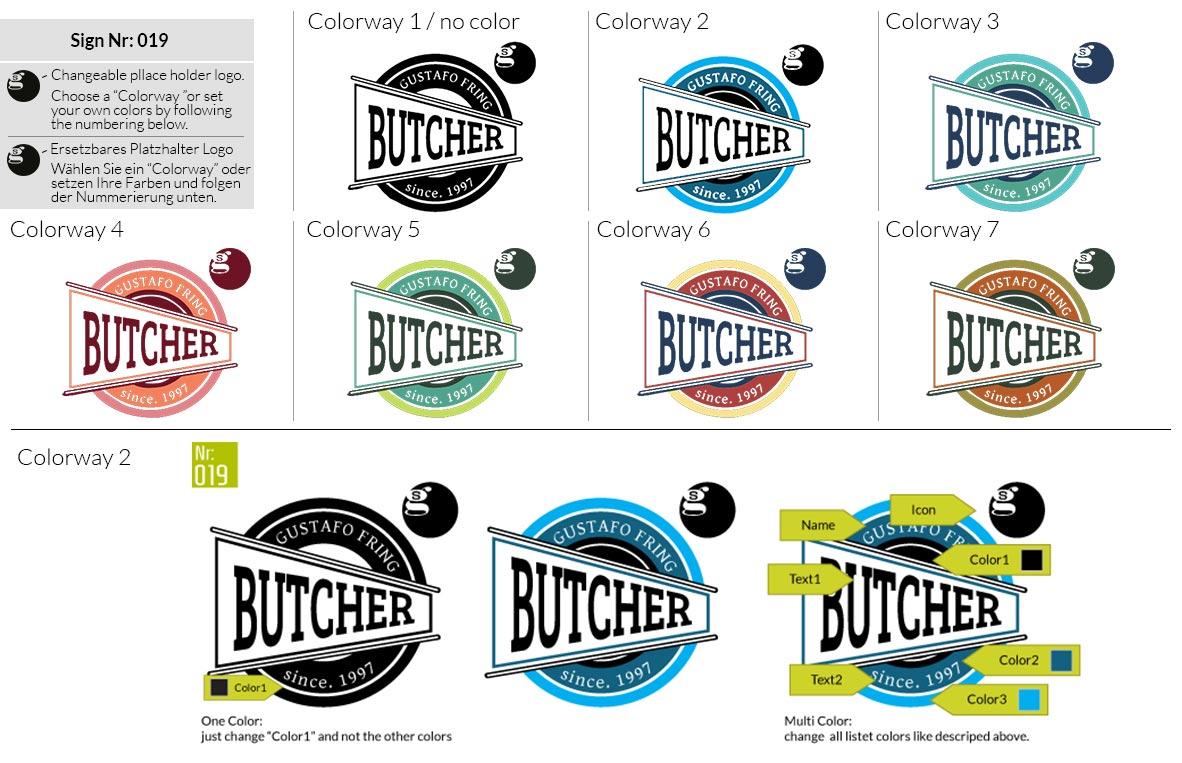 019 Make Look Branding Logo Smal Colorways 001