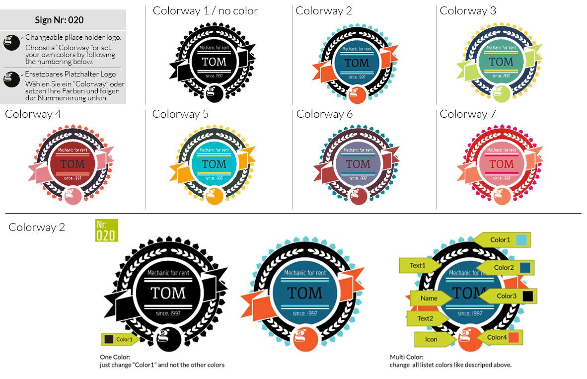 020 Make Look Branding Logo Smal Colorways 001