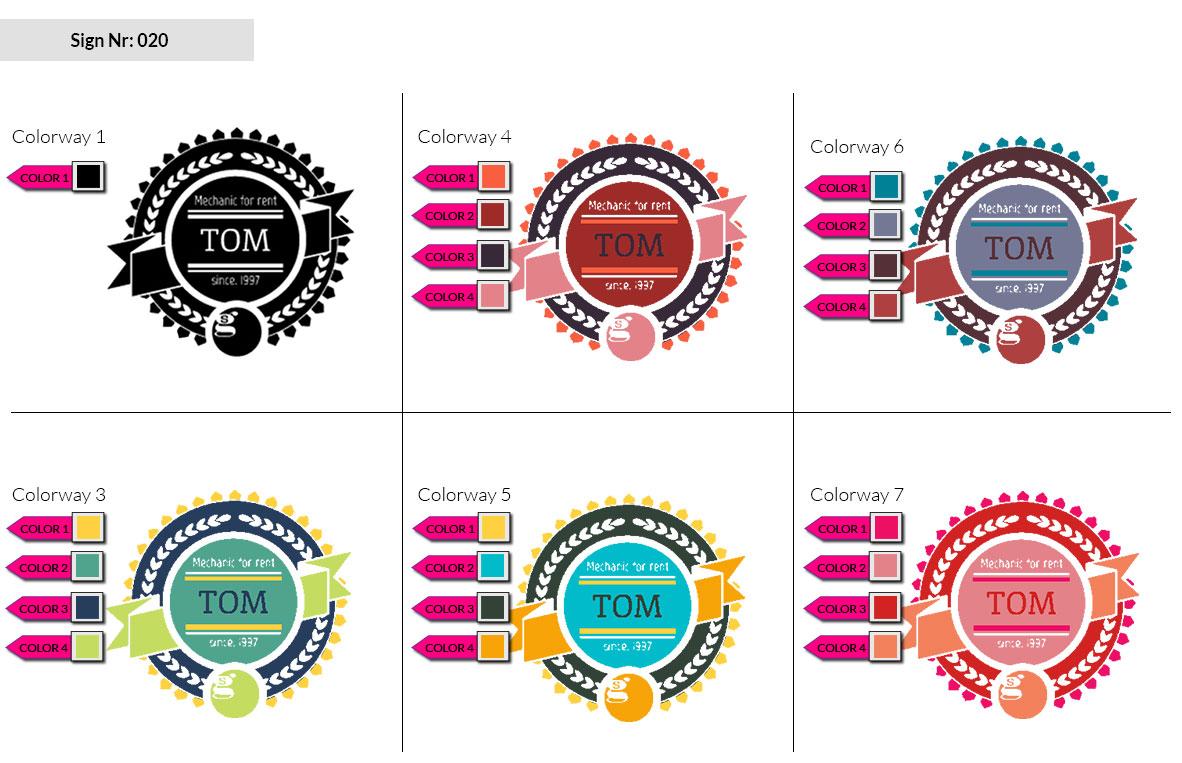 020 Make Look Branding Logo Smal Colorways 002