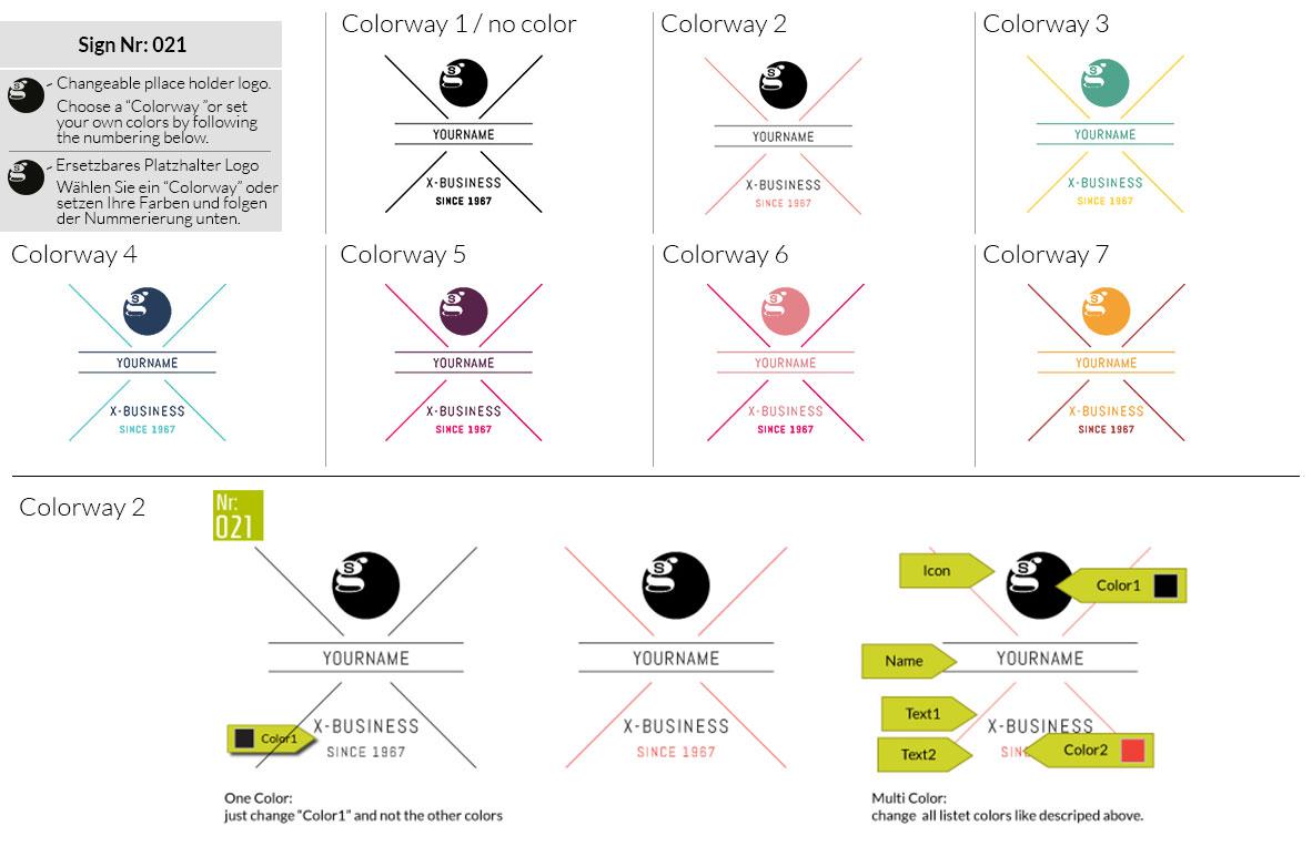 021 Make Look Branding Logo Smal Colorways 001