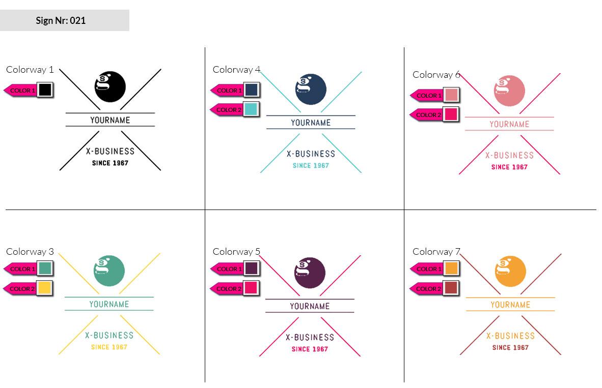 021 Make Look Branding Logo Smal Colorways 002
