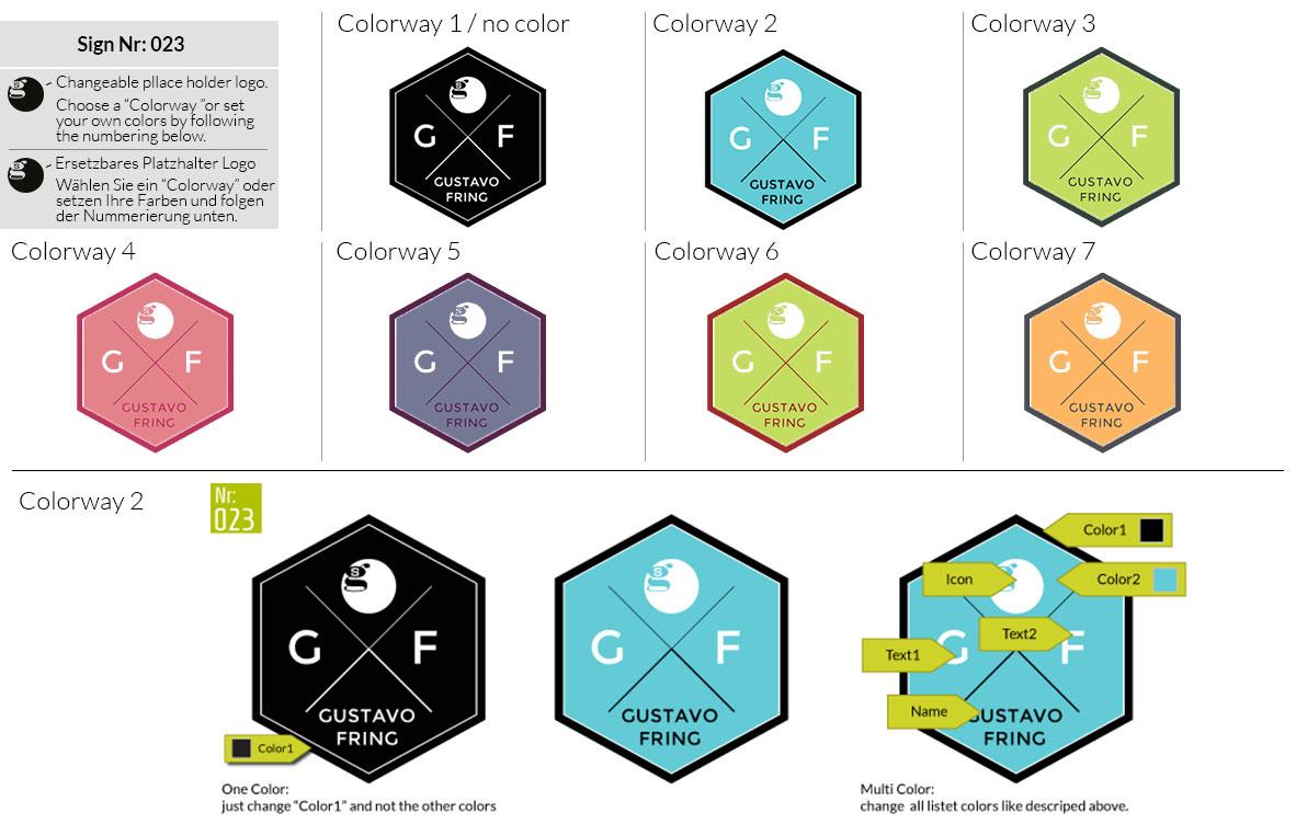 023 Make Look Branding Logo Smal Colorways 001