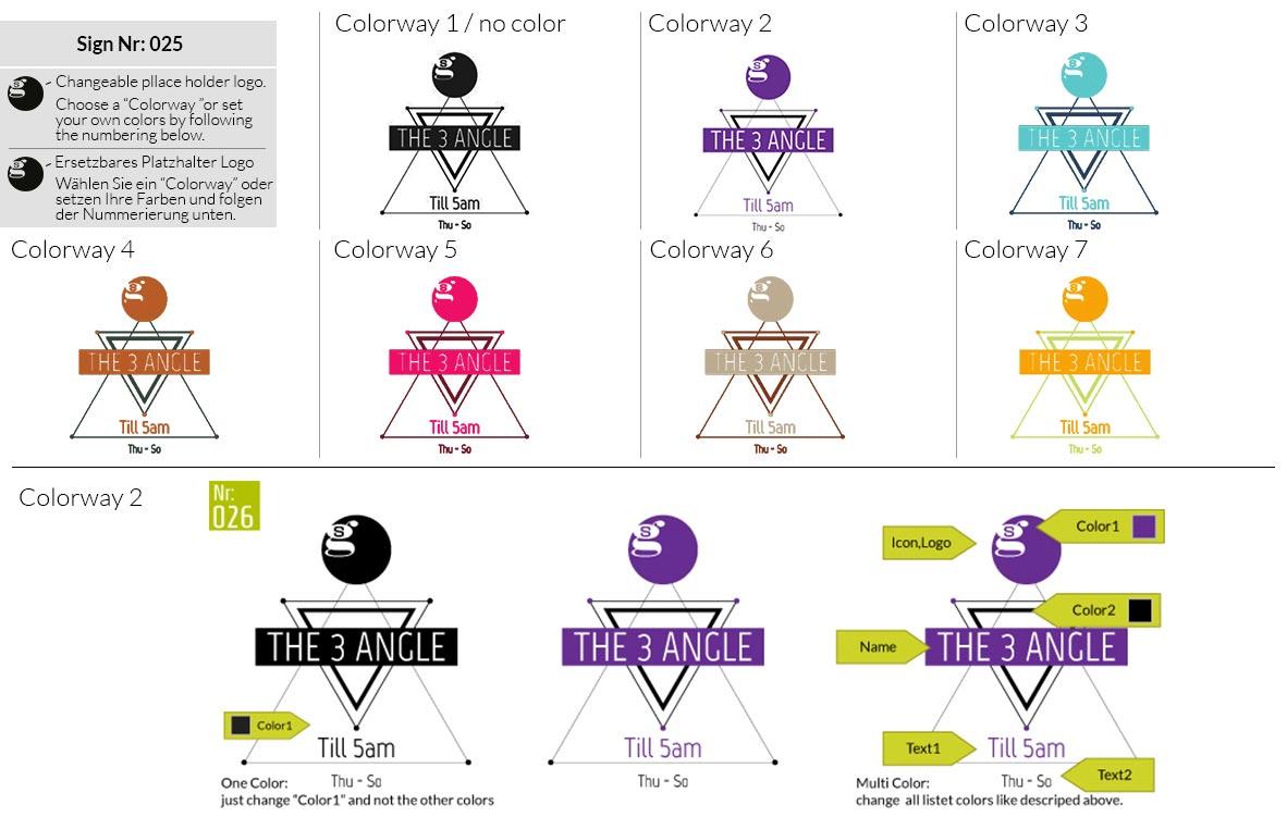 025 Make Look Branding Logo Smal Colorways 001