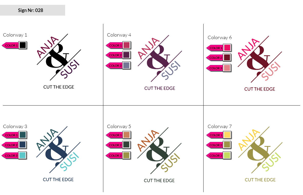 028 Make Look Branding Logo Smal Colorways 002