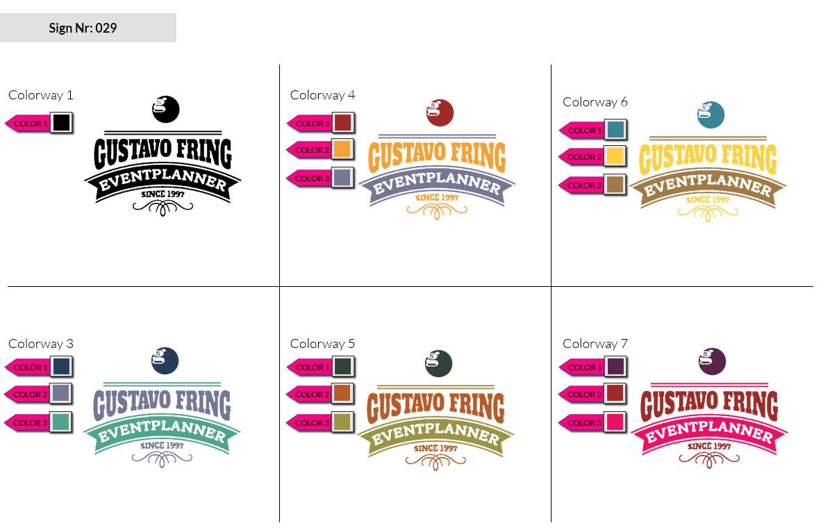 029 Make Look Branding Logo Smal Colorways 002