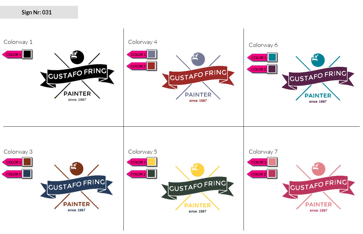 031 Make Look Branding Logo Smal Colorways 002