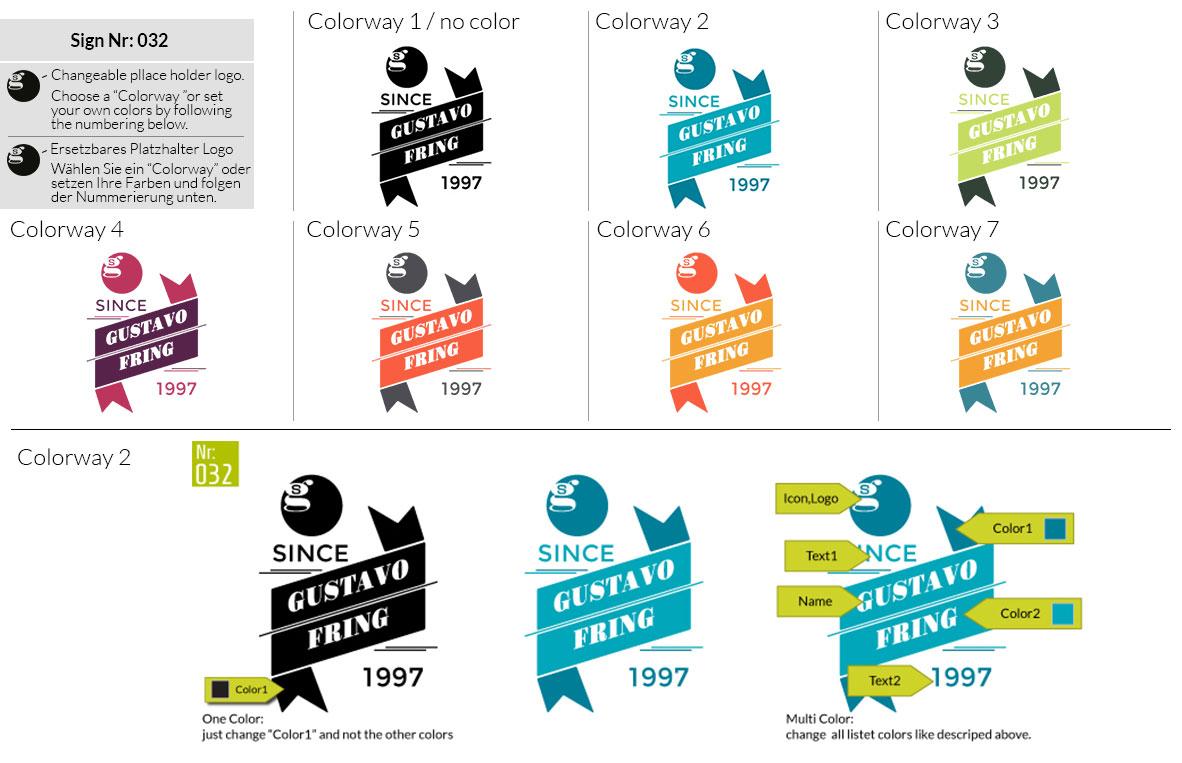 032 Make Look Branding Logo Smal Colorways 001
