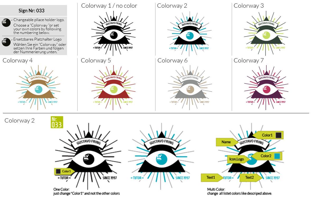 033 Make Look Branding Logo Smal Colorways 001