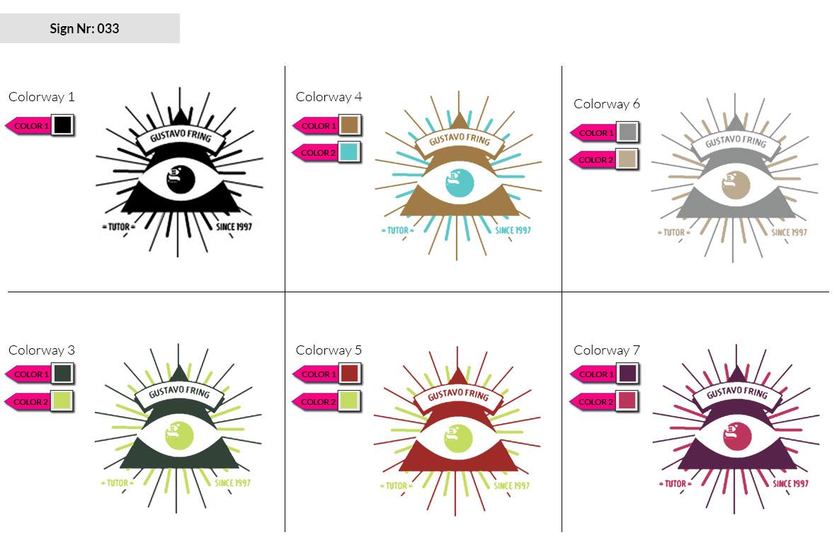 033 Make Look Branding Logo Smal Colorways 002