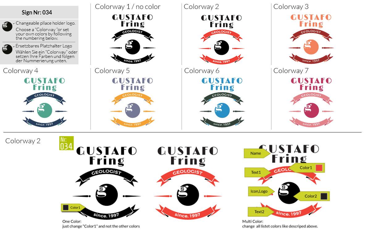034 Make Look Branding Logo Smal Colorways 001