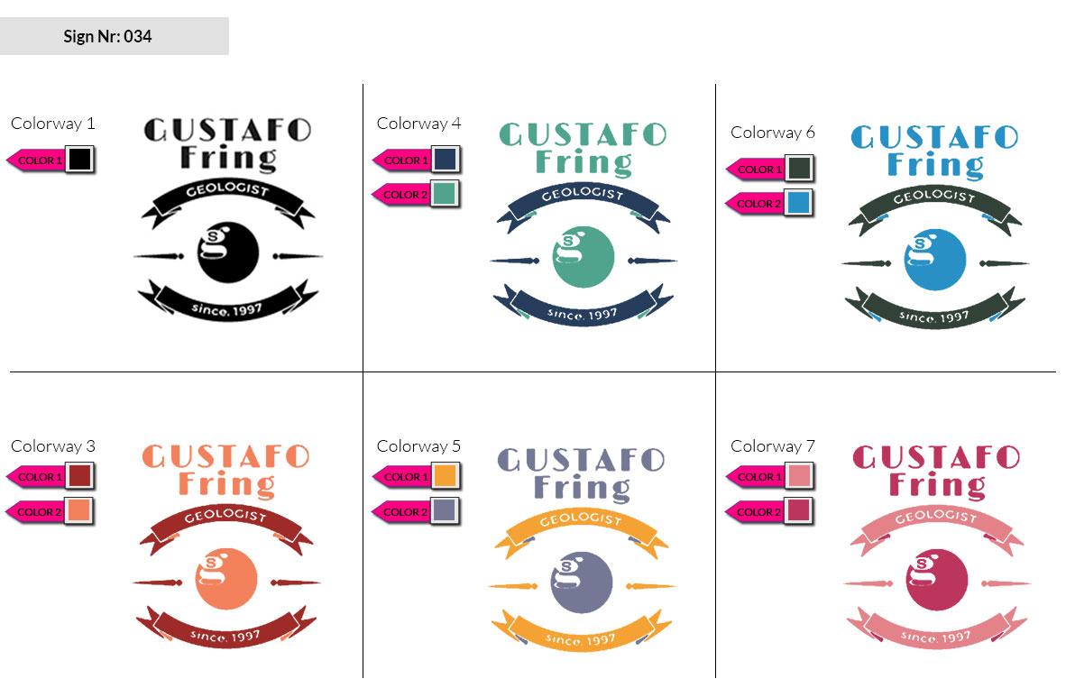 034 Make Look Branding Logo Smal Colorways 002