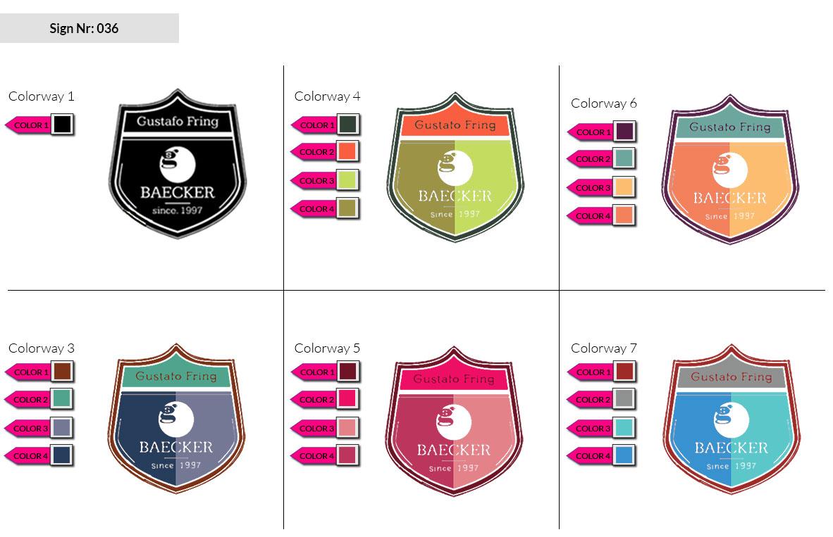 036 Make Look Branding Logo Smal Colorways 002