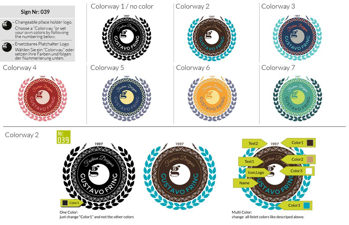 039 Make Look Branding Logo Smal Colorways 001