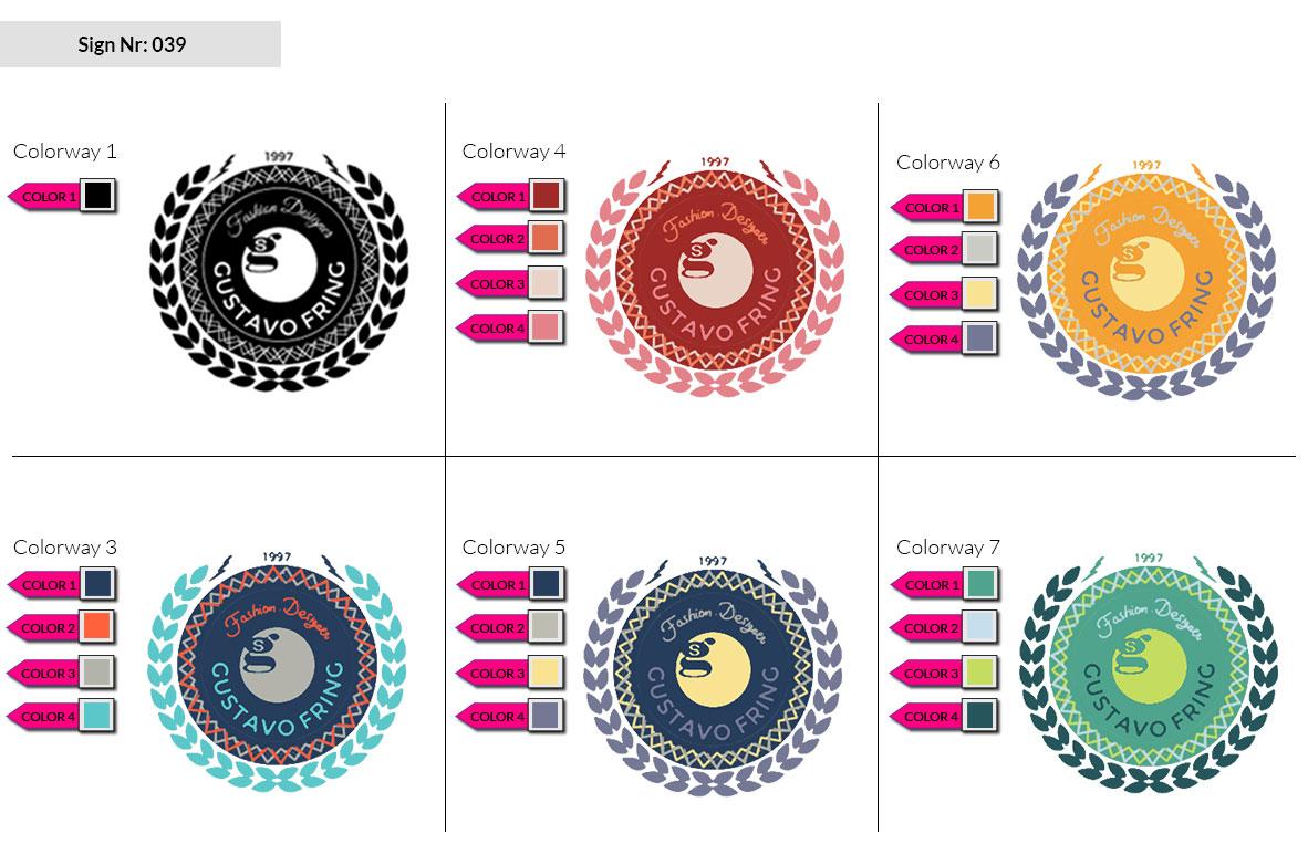 039 Make Look Branding Logo Smal Colorways 002