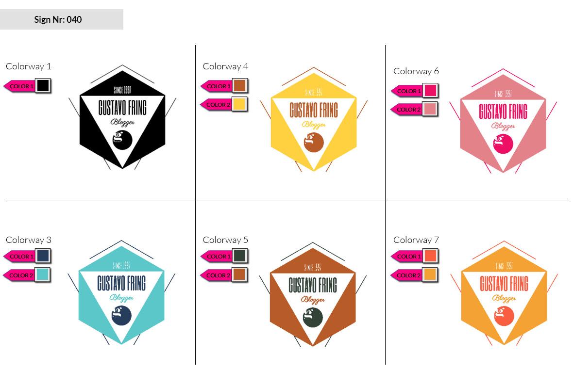 040 Make Look Branding Logo Smal Colorways 002