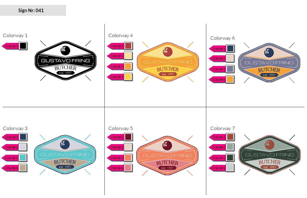041 Make Look Branding Logo Smal Colorways 002