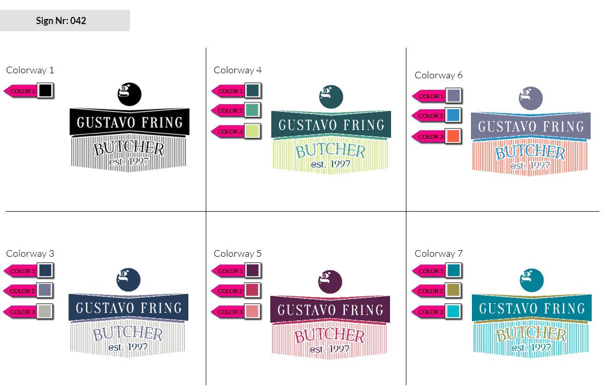 042 Make Look Branding Logo Smal Colorways 002