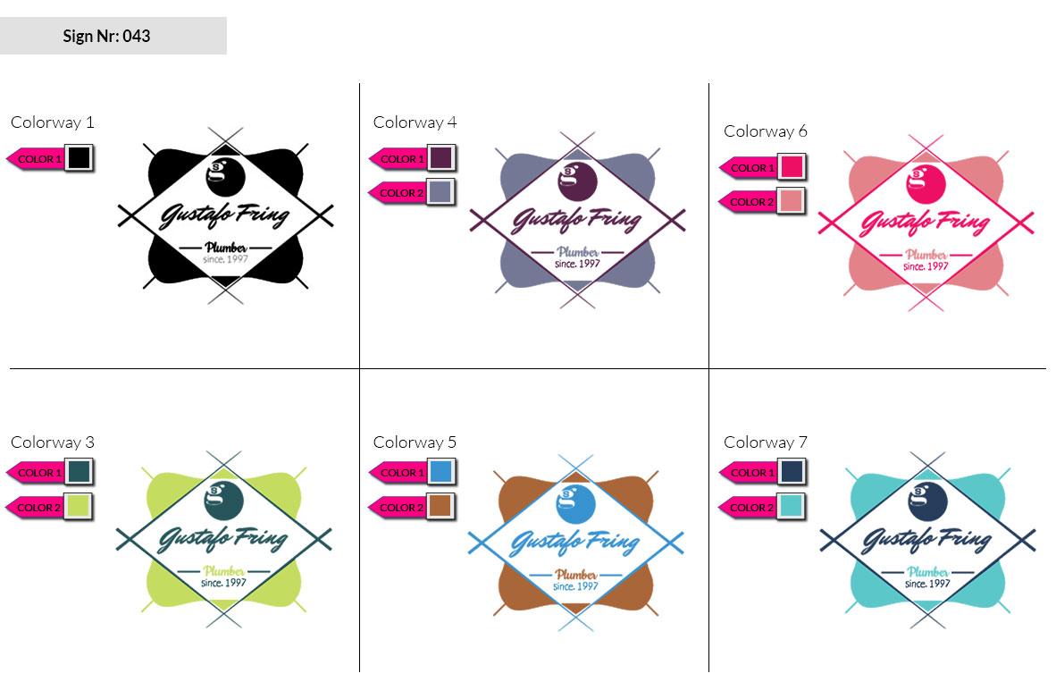 043 Make Look Branding Logo Smal Colorways 002