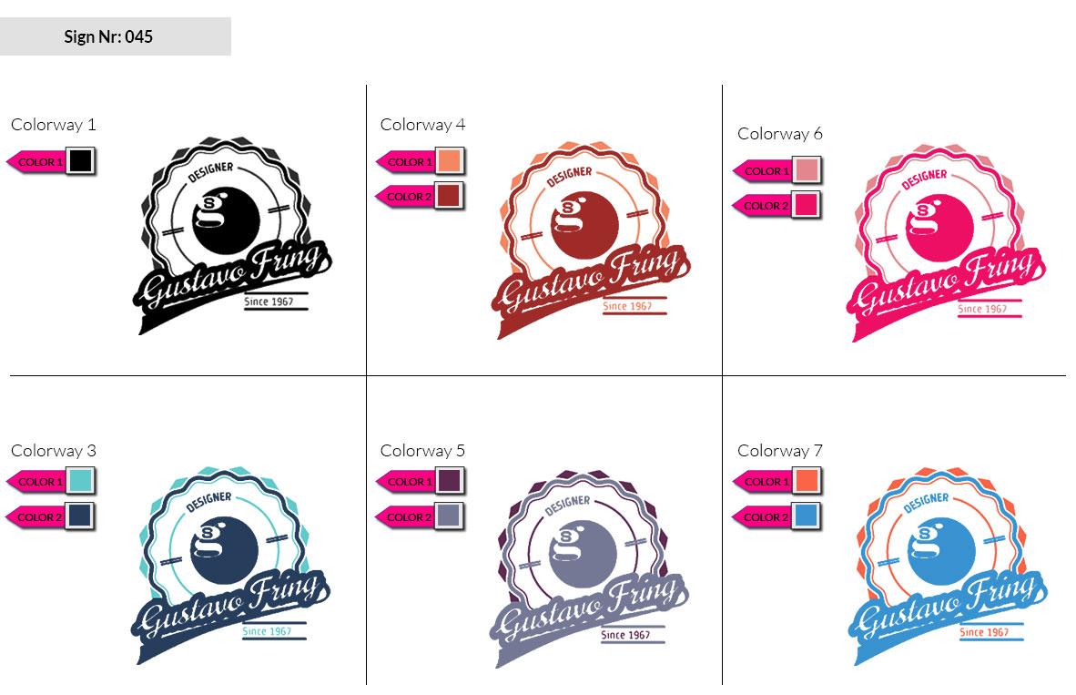 045 Make Look Branding Logo Smal Colorways 002