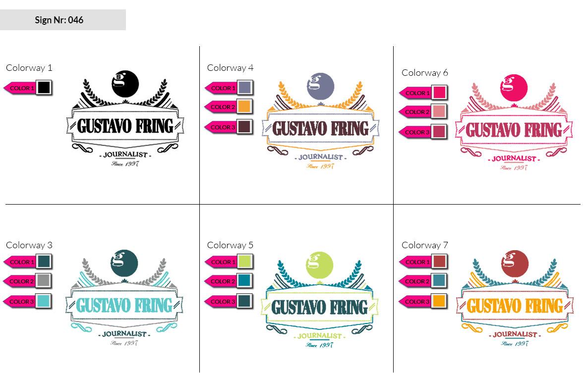 046 Make Look Branding Logo Smal Colorways 002