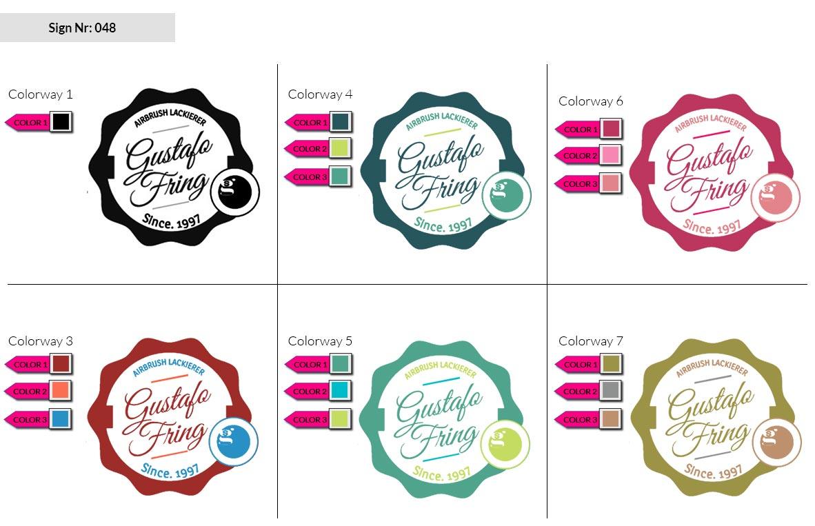 048 Make Look Branding Logo Smal Colorways 002