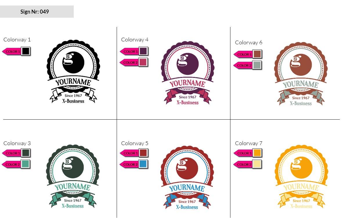 049 Make Look Branding Logo Smal Colorways 002