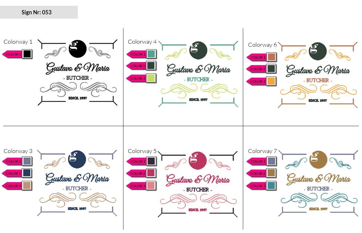 053 Make Look Branding Logo Smal Colorways 002