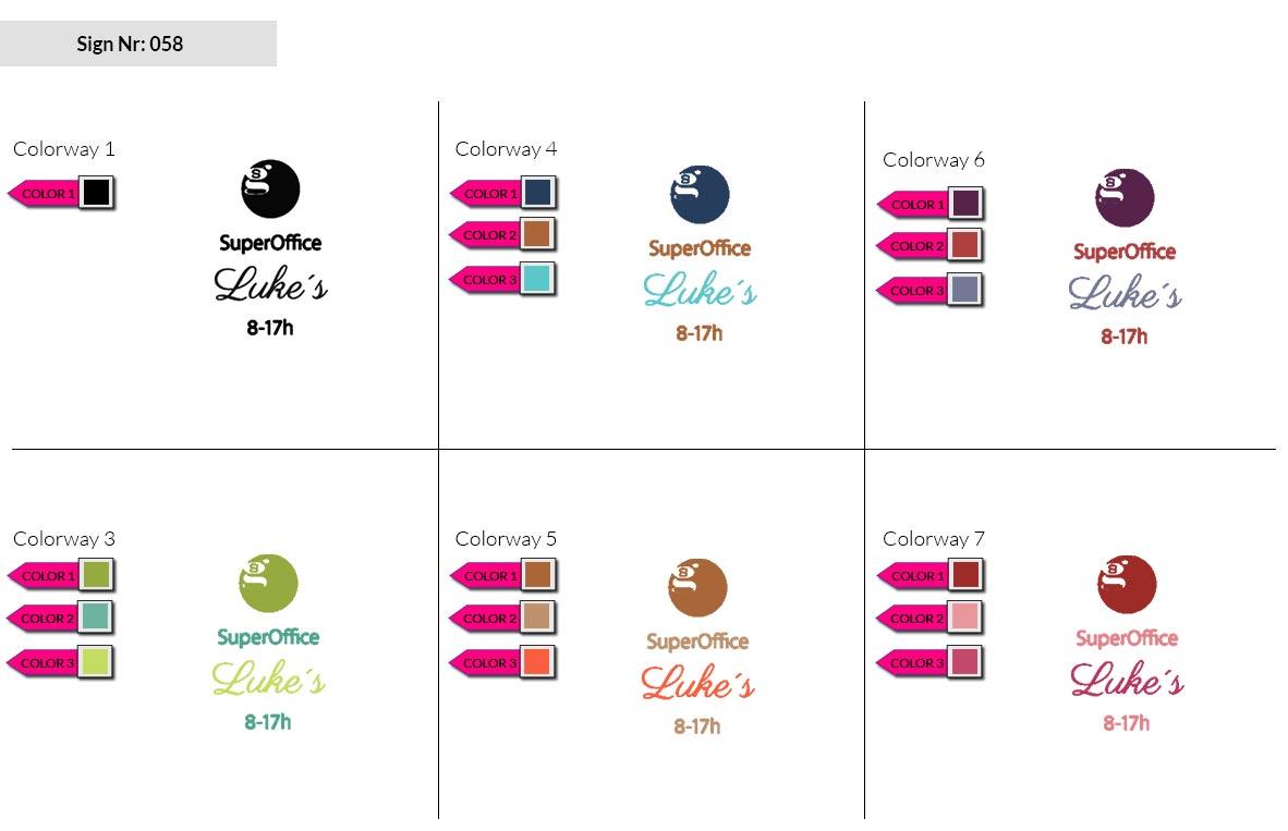 058 Make Look Branding Logo Smal Colorways 002