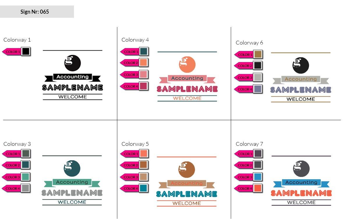 065 Make Look Branding Logo Smal Colorways 002