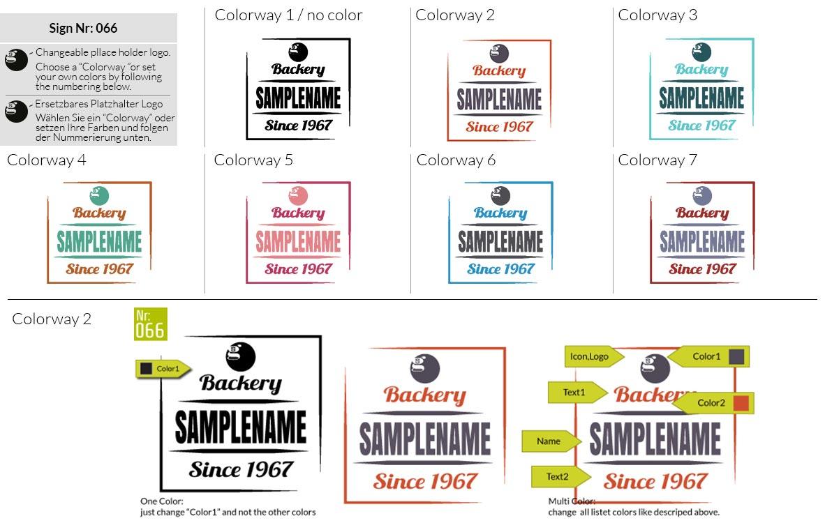 066 Make Look Branding Logo Smal Colorways 001