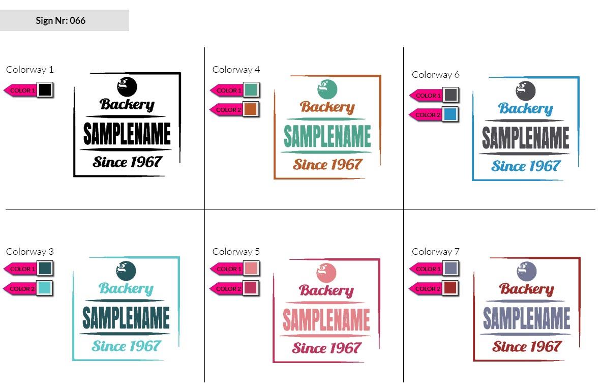 066 Make Look Branding Logo Smal Colorways 002