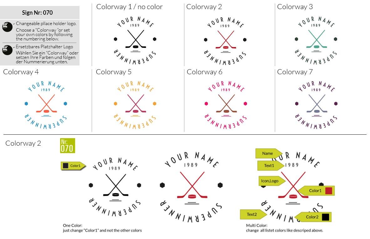 070 Make Look Branding Logo Smal Colorways 001
