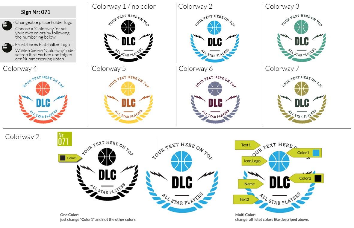 071 Make Look Branding Logo Smal Colorways 001