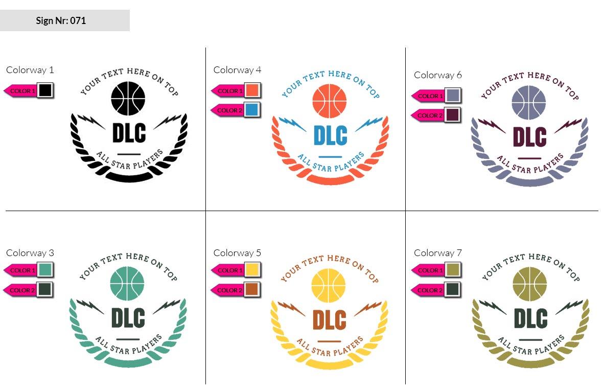 071 Make Look Branding Logo Smal Colorways 002