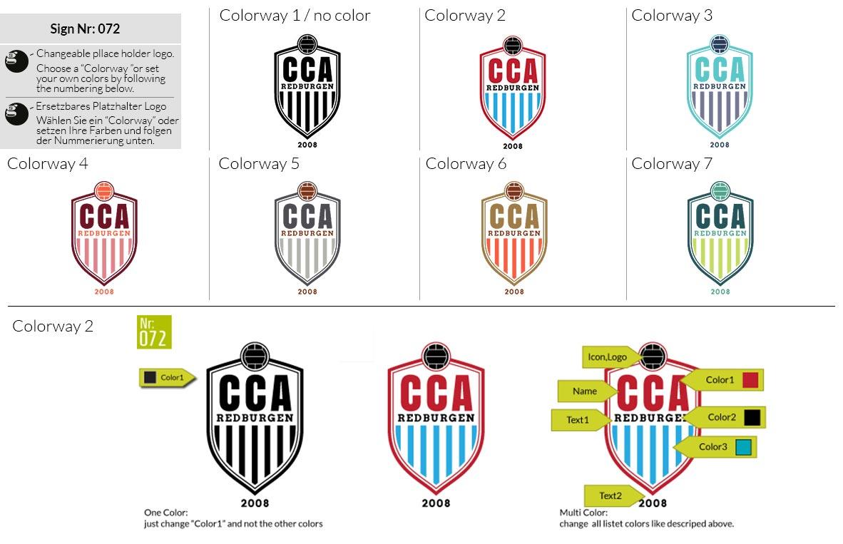 072 Make Look Branding Logo Smal Colorways 001