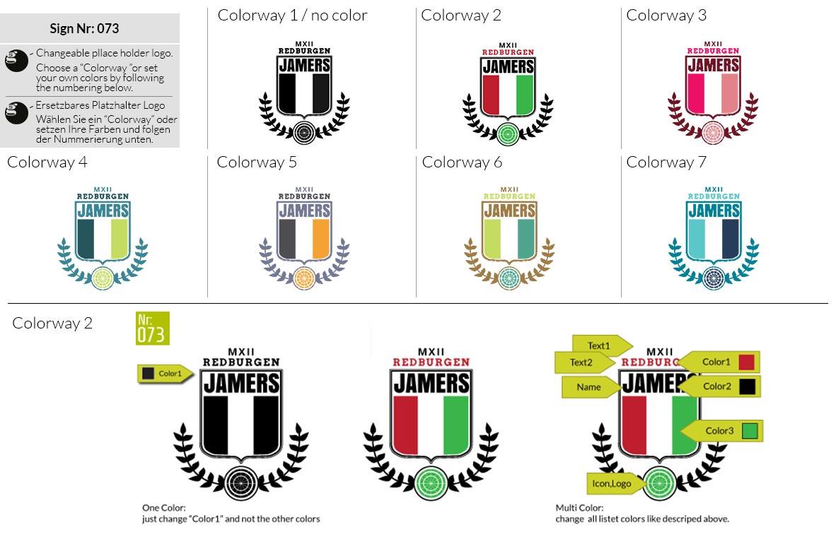 073 Make Look Branding Logo Smal Colorways 001