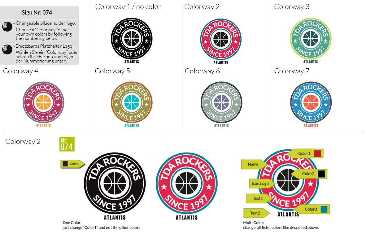 074 Make Look Branding Logo Smal Colorways 001