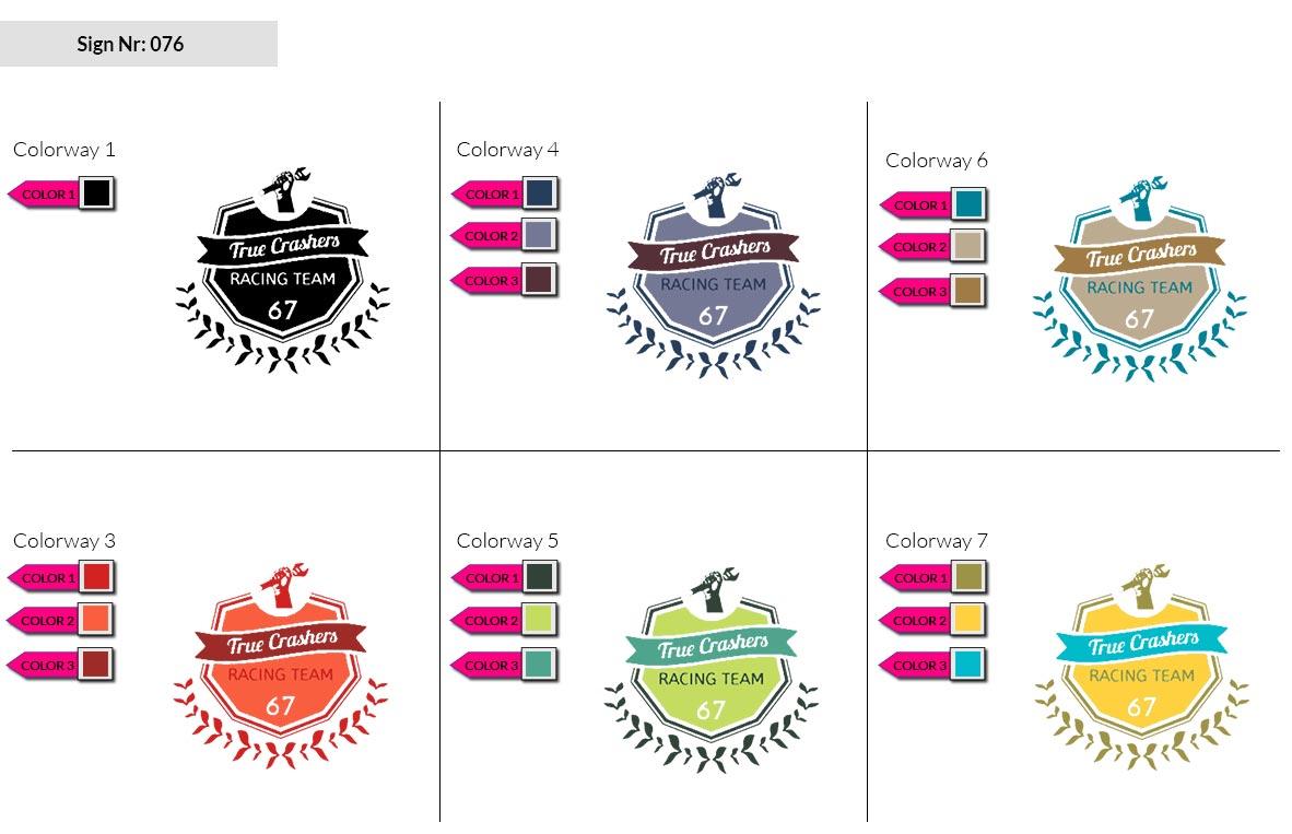 076 Make Look Branding Logo Smal Colorways 002