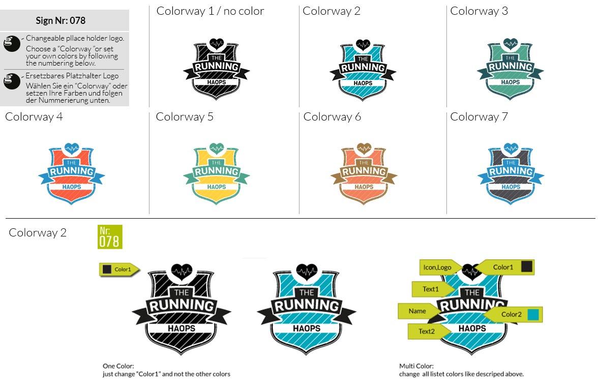078 Make Look Branding Logo Smal Colorways 001