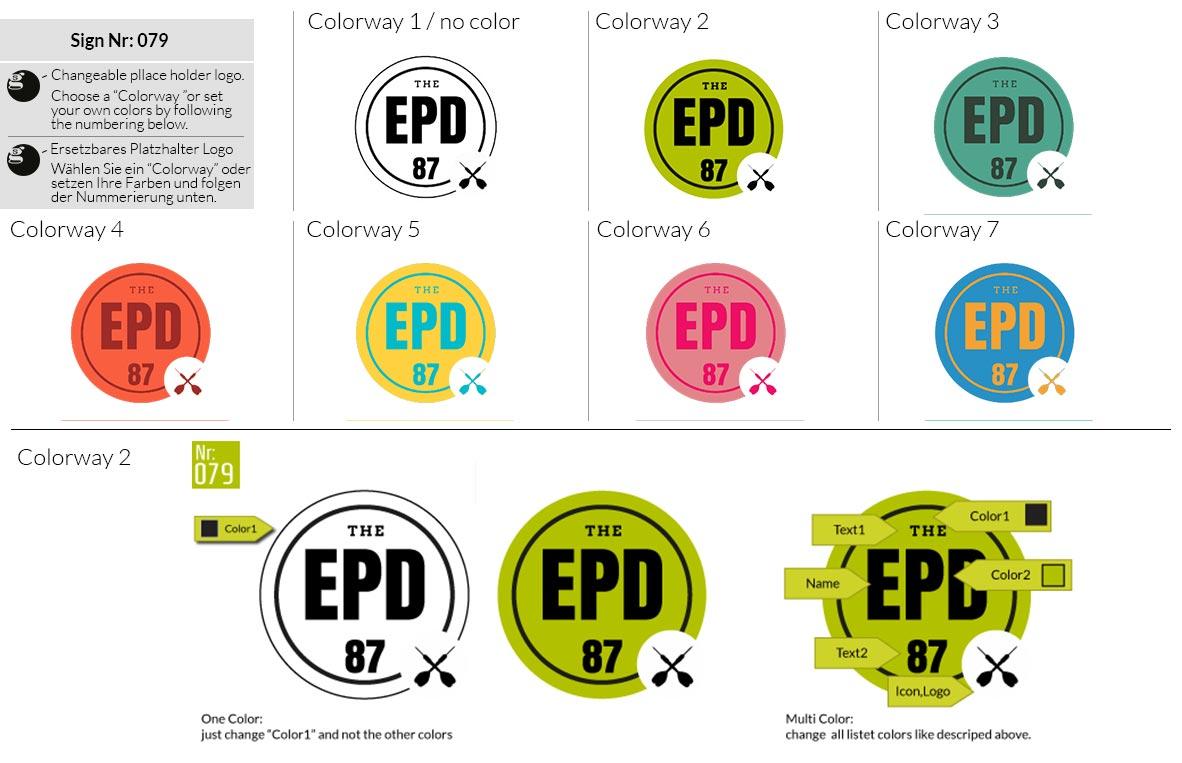 079 Make Look Branding Logo Smal Colorways 001