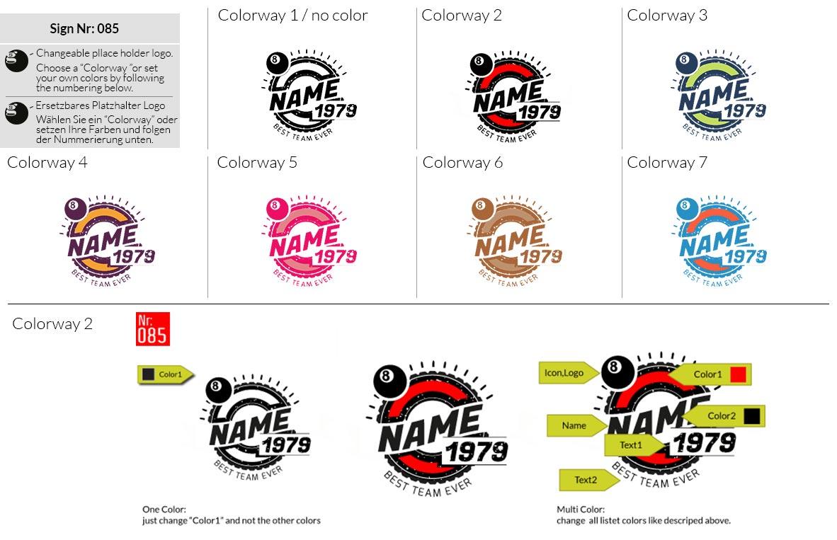 085 Make Look Branding Logo Smal Colorways 001