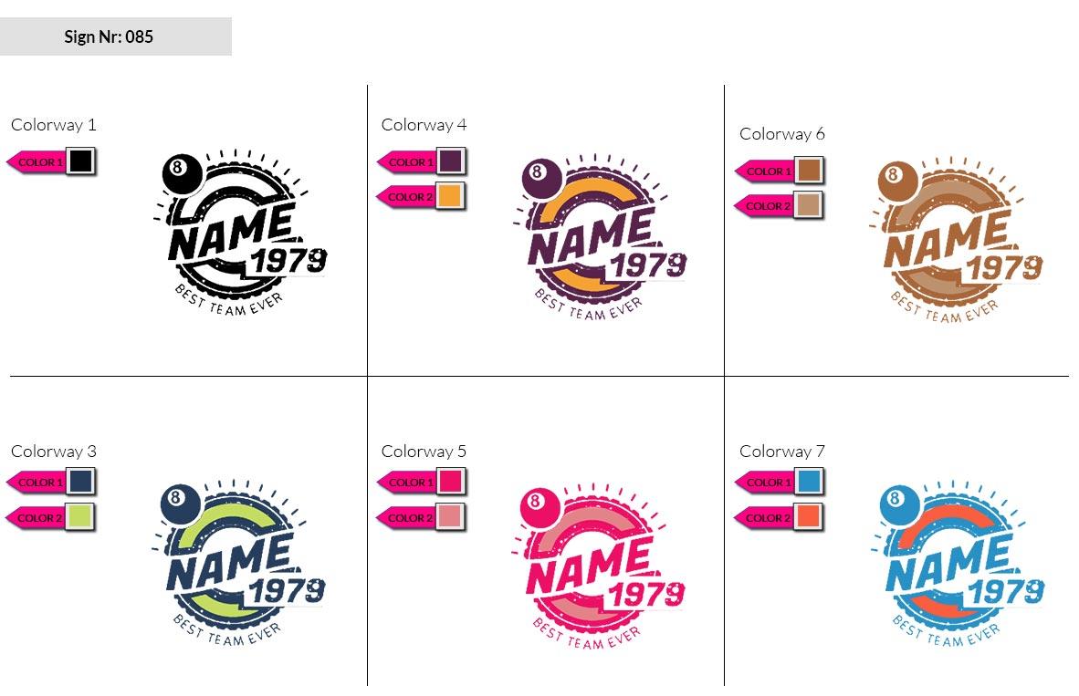085 Make Look Branding Logo Smal Colorways 002