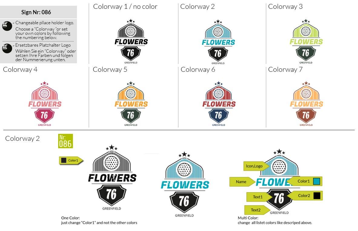 086 Make Look Branding Logo Smal Colorways 001