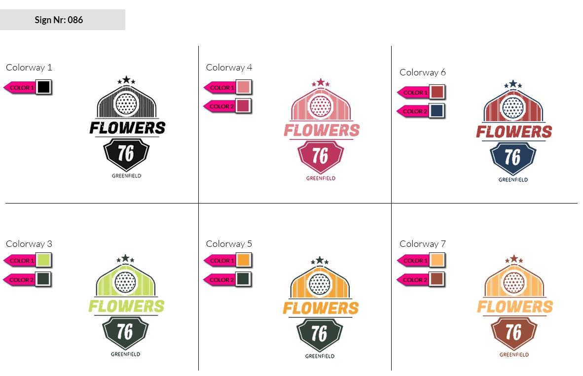 086 Make Look Branding Logo Smal Colorways 002