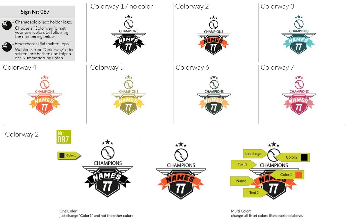 087 Make Look Branding Logo Smal Colorways 001