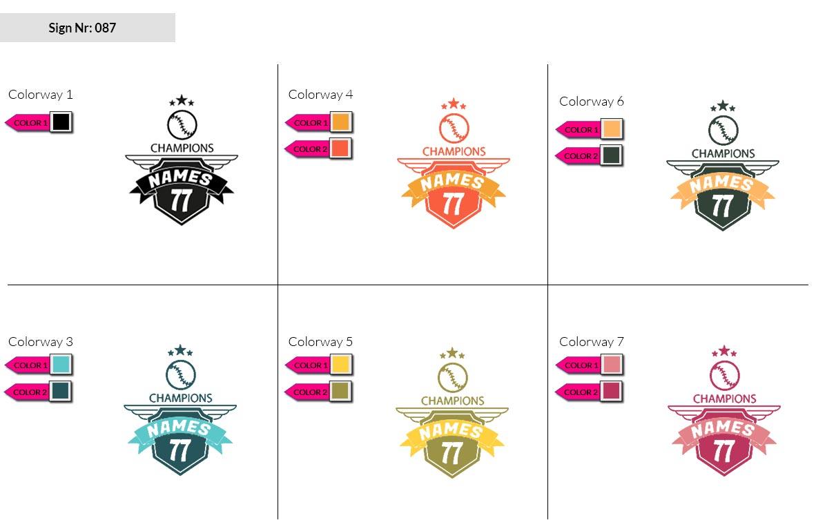 087 Make Look Branding Logo Smal Colorways 002