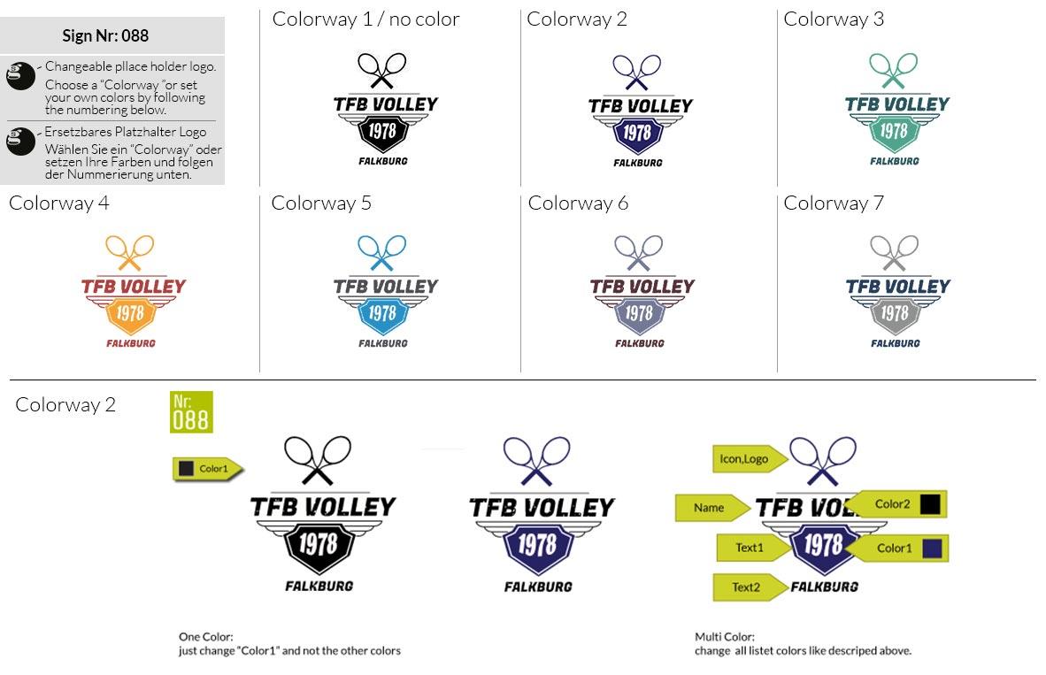 088 Make Look Branding Logo Smal Colorways 001