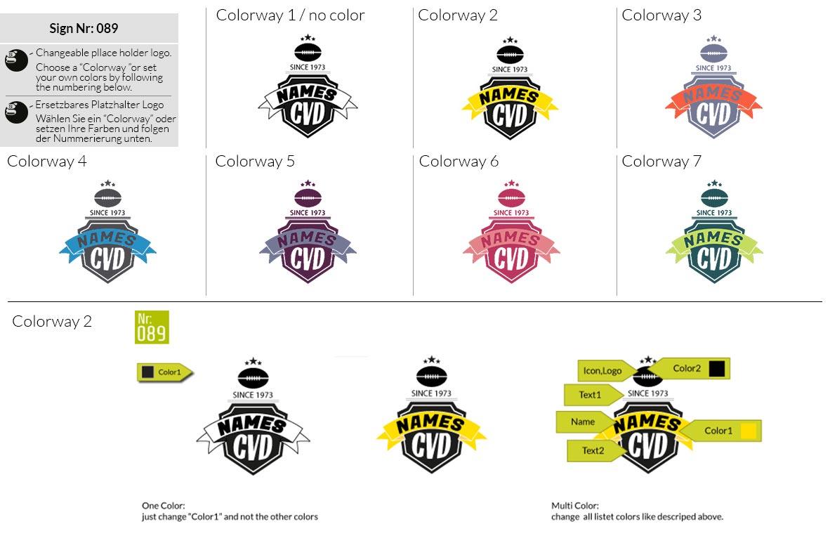 089 Make Look Branding Logo Smal Colorways 001