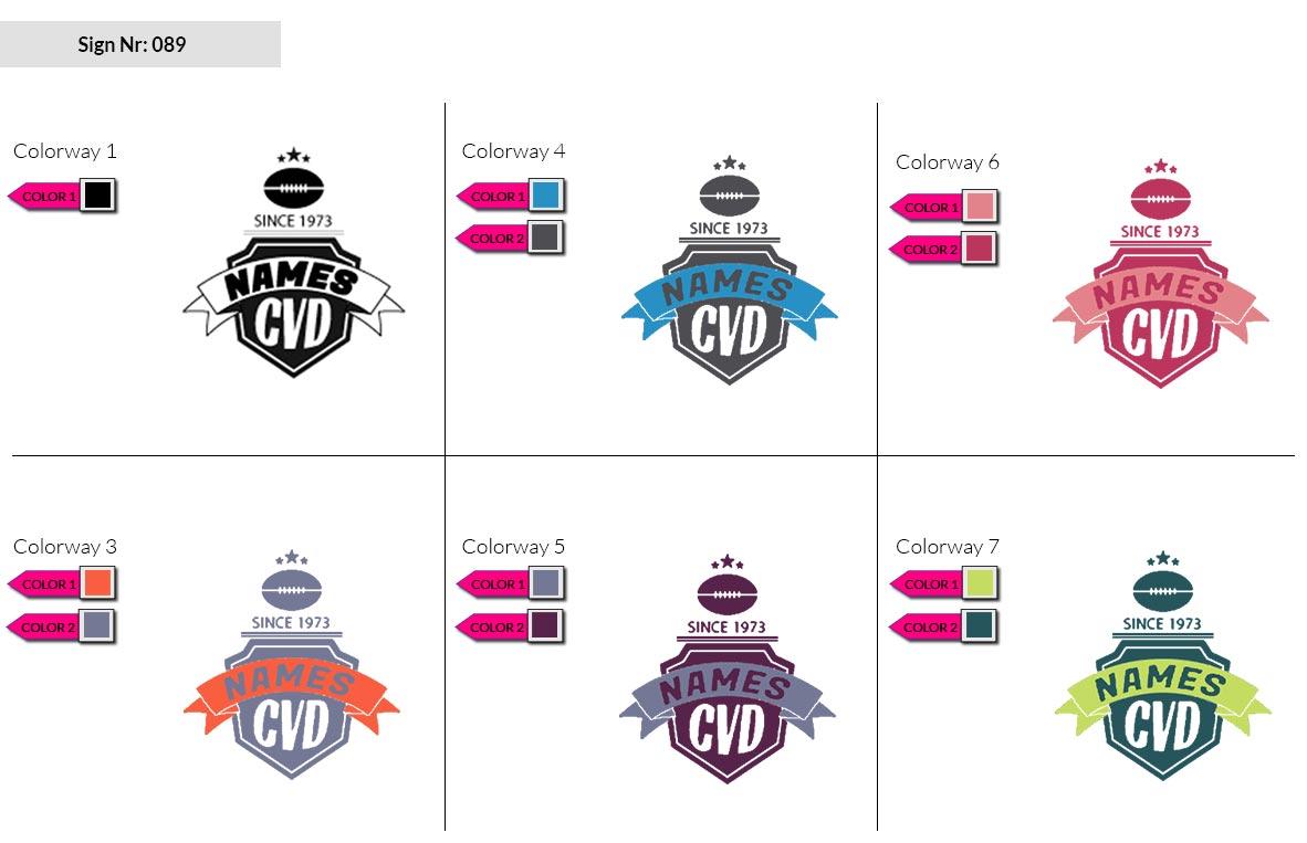 089 Make Look Branding Logo Smal Colorways 002