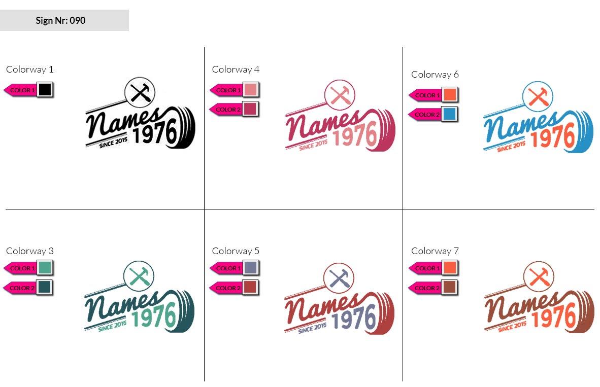 090 Make Look Branding Logo Smal Colorways 002